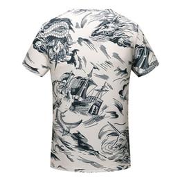 Wholesale Legends Tshirt - Legend Adventure Cartoon Figure Printing Tees Male Crew Neck Breathable Solid Simple Causal TeesBreathable Causal Tshirt