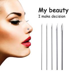 16g nadeln Rabatt 100 teile / los Mixed Sterile 12G 14G 16G 18G 20G Einweg Medical Grade Piercing Nadel für Tool Kit für Ohr Nase Nabel