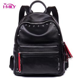 66171b6da733 HMILY Trendy Women Backpack Genuine Leather Shoulder Bag For Ladies Daily Shopping  Female Sweet Fashion Women Bag Leisure