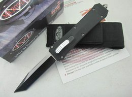 Wholesale Out Gear - 4 Style Microtech A162 Combat Troodon double action out the front knives utdoor Camping Hiking Survival EDC Gear