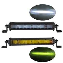 led-lkw-arbeitsleuchten Rabatt 6D 8inch 18W schlanker Mini-LED-Lichtstrahl-einzelne Reihen-Arbeits-Lichter für nicht für LKW-LKW-Boot