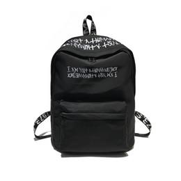 32bfbeb916d Nylon Men Women Sport Backpacks Casual Travel Backpack Black Laptop Bag  Girl Boy School Bag Solid Teenager Bookbag Zipper