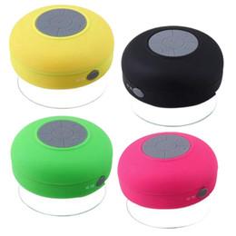 Super étanche Bluetooth Haut-Parleur Sans Fil Douche Mains Libres Appel Recevoir Recevoir Aspiration Chuck Haut-Parleur Haut-Parleur De Voiture Portable mini MP3 Super Bass ? partir de fabricateur