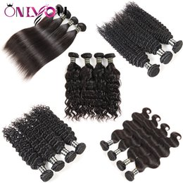 Wholesale Price Brazilian Virgin Hair Weave Bundles Body Wave Deep Curly Kinky Curly Cheap Human Hair Extensions Unprocessed Virgin Hair 1B Coupon