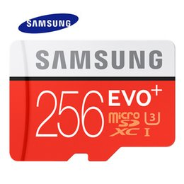 Carte mémoire Samsung Original 256 Go EVO + Carte mémoire MB-MC256G EVO Plus U3 64 Go 128 Go Class10 ? partir de fabricateur