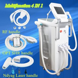 Wholesale N Skin - Best price ipl shr hair removal machine Multifunctional OPT SHR IPL Laser Hair Removal ND YAG Laser Tattoo Removal Beauty Machine IPL&RF & N
