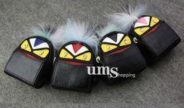 vendita all'ingrosso Monster PU in pelle piccola Mini portamonete portachiavi portafoglio donna Mini borsa portachiavi borsa a catena da portachiavi piccola borsa della moneta fornitori