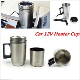 2019 tazza di toyota Caffettiera da 12 V Macchina per caffè in teiera Thermos Bottiglia Tazza per riscaldamento in acciaio inox 300 ml