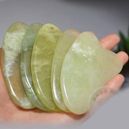 En gros Gua Sha Peau Soins Du Visage Traitement De Massage Jade Raclage Outil SPA Salon Fournisseur Beauté Outils de Santé de haute qualité livraison gratuite ? partir de fabricateur