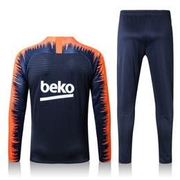 Argentina 2018 nuevo FCB Tracksut Kits conjunto de chándal suéter trajes de entrenamiento hombres Ropa Trajes de atuendo Sudaderas masculinas mezclar orden Suministro