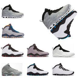 Canada Nouveau Baskets Ciment 10 Westbrook 10s je suis de retour Blanc Noir Cool Grey Bobcats Chicago Acier Gris Hommes 10 vente en gros Sneakers taille 41-47 cheap wholesale back massage Offre