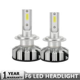 Canada PAMPSEE nouvelle mise à niveau Mini kit de phare de voiture LED Canbus H4 H7 50W 10000LM / Set H1 H11 9005 9006 6000K ampoules accessoires de voiture cheap new h11 bulbs Offre