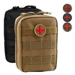 4 Couleurs Sac Vide pour Sac D'urgence Tactique Médical Premiers Secours Paquets Taille Pack En Plein Air Camping Voyage Tactique Molle Poche mk443 ? partir de fabricateur