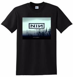 Гвозди онлайн-NINE INCH NAILS T SHIRT nin с зубами виниловый cd обложка SMALL MEDIUM LARGE трикотажные удобные ткани уличные мужские футболки