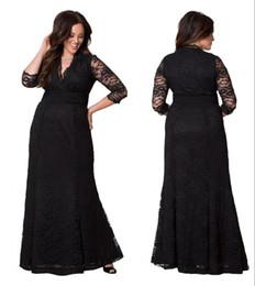 preços do revestimento Desconto Novo Design de Venda Quente Moda Mãe Dos Vestidos de Noiva Com Decote Em V 3/4 Mangas Compridas Até O Chão Zíper Preço Barato Custom Made DH4081