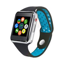 новые умные часы sim Скидка 2018 новый Bluetooth Smart Watch с камерой Facebook IP67 часы Twitter синхронизация SMS Smartwatch поддержка SIM-карты TF для IOS Android