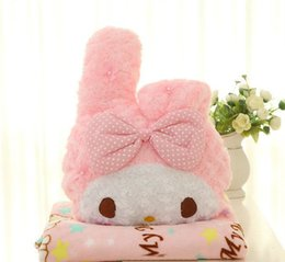 Wholesale Air Dolls - Multifunction Dual-use Plush Doll Hello Kitty Pillow Air Condition Blanket Sleep Cover Cushion Quilt Bedding Car Seat Back Rest