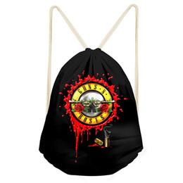 Canada Noisydesigns 2018 Mode pour les femmes filles sacs à cordon rose rétro conçu sport chaussure de danse sac cartable de stockage sac à dos Offre