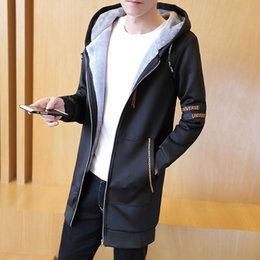 Wholesale Trench Coat Warm Liner - 2017 Winter Men's Fashion Thickening Warm Trench , Winter Windproof Thick Warm Men Coats & Jackets , Plus Size Men's Coat S-5XL