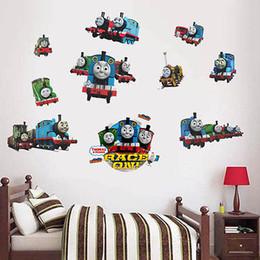 Canada Dessin animé amovible Kids Room Decor Vinyle Thomas Amis Train Gordon Railway Wall Sticker DIY Décalque à la maison Offre