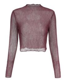 2018 La bambola da donna in Europa e negli Stati Uniti svuota la giacca sexy a maniche lunghe con giunture che mostra il hilum femminile da