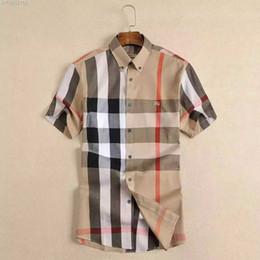 moda da camisa dos homens da flanela Desconto Negócio de marca dos homens camisa Ocasional dos homens de manga longa listrado slim fit camisa masculina social do sexo masculino T-shirts nova moda homem verificado camisa 183