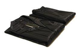 Wholesale Plus Size Satin Pajamas - Mid old men heren hombre classic plus size sateen\satin sleepwears black stripe pyama pajamas pyjama sets for husband lovers