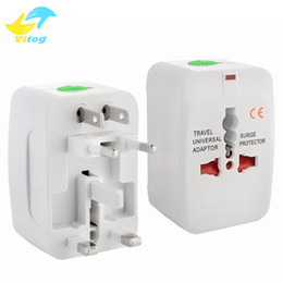 Wholesale Wholesale International Brands - Travel universal wall charger power adapter for plug Surge Protector Universal International Travel Power Adapter Plug (US UK EU AU AC Plug)