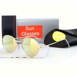 Новые модные солнцезащитные очки онлайн-Новые модные солнцезащитные очки модные дизайнерские очки классические металлические овальные солнцезащитные очки модные очки 11 цветов качество