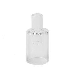 adaptador de cera Rebajas Herramienta de tubo de vástago adaptador Pyrex boquilla de vidrio para Longmada Glowcore cera tanque Vape Starter Kit atomizador vaporizador cigarrillo electrónico
