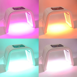 Wholesale Light Machines For Acne - Omega LED Skin Rejuvenation Machine PDT Photon Light Therapy Beauty Equipment With 7 Colors For Acne Treatment Wrinkle Removal