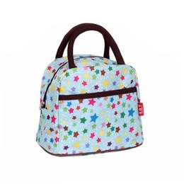 Blumen-mittagessen-totes online-Handtaschen Frauen Taschen Totes Square Canvas Wasserdichte Mode Handtasche Großhandel Druck Floral Version Tasche Damen Lunch Bag Handtaschen