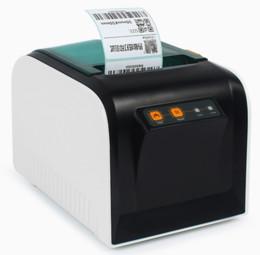 imprimantes de marque Promotion nouveaux autocollants de haute qualité imprimantes d'étiquettes de codes à barres imprimante d'étiquettes de vêtements support d'impression 80mm vitesse d'impression est très rapide