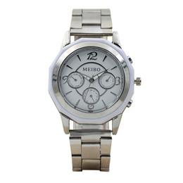 женские круглые часы Скидка Мужчина женщины для мужчин дамы унисекс спорт металл нержавеющая сталь спортивная круглая форма кварцевые часы наручные аналоговые часы мода новый топ