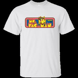 Camisetas de videojuegos online-Sra. Pac-Man, Pacman, camiseta, Retro, años 80, Vintage, Arcade, Carpa, Video Gam Cartoon camiseta hombres Unisex Nuevo