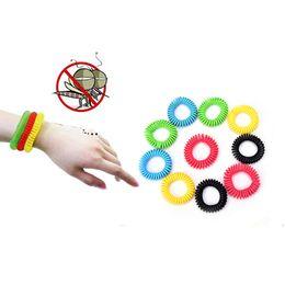 camping-armbänder Rabatt Anti Moskito Insektenschutzmittel Handgelenk Haarband Armband Camping Outdoor Repellent Armband Armband Schädlingsbekämpfung OOA5273
