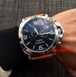 relojes antiguos pulsera pulsera Rebajas AAA calidad hombres relojes reloj de lujo día cinco agujas correa de cuero superior marca relojes de pulsera mecánicos automáticos para hombre regalo de Navidad