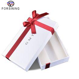 Дизайнерский картон онлайн-Forsining 2017 Fashion GMT Watch Special High-end Christmas New Year Quality Watch Cardboard Gift Box  Present Design