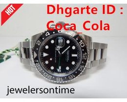 Wholesale Eta Movement Watches - 2018 Mens High Quality Luxury AAA GMT Noob Factory V2 Ceramic Bezel 40mm 116710LN 116710blnr 116710 ETA 2813 Movement Automatic Mens Watch