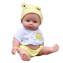 Wholesale Wholesale Reborn Doll - Baby Dolls Infant Reborn Handmade Doll Soft Eco-friendly Vinyl Silicone Lifelike Newborn Baby Dolls for Girls Gift