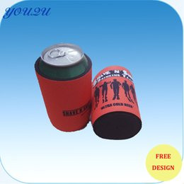 Wholesale Stubby Holders - Hot sell Customized LOGO Neoprene Stubby Holder with Base for Gift,Free shipping  accepted