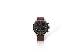 Wholesale Imported Roses - Imported Movement Six Needle Quartz Watches Steel Belt Men's Casual Fashion Chronograph Rose Gold Men Watch Customized LOGO