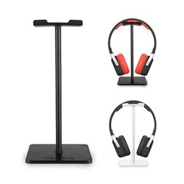 Wholesale Display Desk - Aluminum Earphone Headset Stand Holder Headphone Desk Display Stand Universal