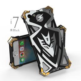 2019 чехол для мобильного телефона I7 Plus Case Оригинальный Дизайн Панк Броня Heavy Dust Metal Алюминий Тор Ironman Телефон Case Обложка Для Iphone6 7 Iphone 6 7 Plus дешево чехол для мобильного телефона