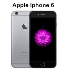 Wholesale dual gsm - Original Unlocked Refurbished Apple iPhone 6 Support fingerprint Cell Phones 4.7'IPS 2GB RAM 16 64 128GB ROM GSM WCDMA LTE iPhone 6 Phone