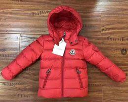 2019 самое теплое длинное пальто Зимняя куртка бренд с капюшоном дети девушки зимнее пальто с длинным рукавом ветрозащитный дети 90% утка вниз вниз пальто верхней одежды теплый 3-10 лет Чжу дешево самое теплое длинное пальто