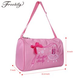 8ed36ba6dae3 dancing bags Australia - Fashion Kids Girls Ballerina Dance Ballet Bag  Shoulder Duffel Bag with Zipper