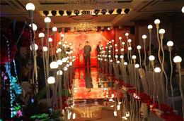 Canada Nouvelle arrivée 1 m / 1,2 m / 1,5 m de large mode argent doré miroir tapis tapis allée coureur pour la noce décorations fournitures Offre