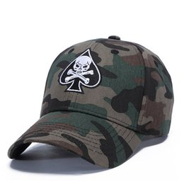 Wholesale camo hats - 2018 new camo bone strapback fashion snapback hats baseball caps designer hat gorra brand cap for men women hip hop bone free shipping