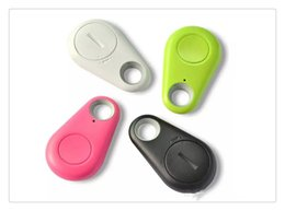 etiqueta bluetooth Rebajas ITag Child Tracer Smart Key Finder Bluetooth Keyfinder Tracer Locator Tags Anti perdida de alarma Monedero Pet Dog Tracker Selfie para IOS XR Android